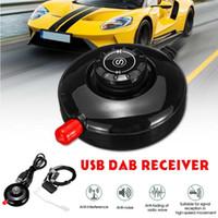 aktives antennenauto großhandel-LED-Panel-Stereo-Empfänger und bewegliche Auto-Dab Digital Radio Empfänger mit Auto-Gebrauch Aktive Antenne