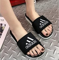 Wholesale comfortable slippers for men for sale - Group buy 2019 Brand A ID S Summer comfortable Fashion mens flat slide casual sandals for women Slippers men shoes slippers