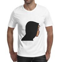 deli derileri toptan satış-XXXTentacion Skins Yan yüz beyazlar t gömlek, gömlek, t shirt, tişörtlerin gömlek tasarım kişiselleştirilmiş grafik tasarımcı çılgın özel atletik