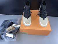 Wholesale 13 spring for sale - Group buy 2020 String Men Boots New Fear Of God Fog Boots Light Bone Black Mens Luxury Designer Casual Shoes Sneakers Platform AR4237 size7