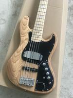 satılık çin bas toptan satış-Bas Gitarlar 5 Strings Marcus Miller İmza Elektrik Bas Maple Fingerboard En Çok Satan