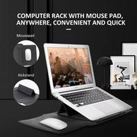 aktenkoffer 11 zoll großhandel-NEW Macbook Halter Tasche für 11/12 13 15 Zoll macbook Handtasche Aktentasche Wasserdichte Laptop-Tasche Leichter Messenger Bags Mode Nylon