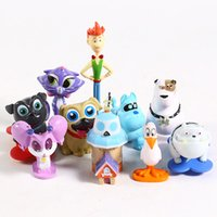 Wholesale dog toy puppet for sale - Group buy Puppy Dog Pals Bingo Rolly Bob dog and friends pug puppies PVC Figure Collectible Model Toy set