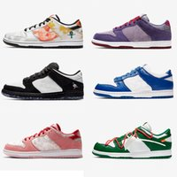 Wholesale 2020 New Running Shoes SB Chunky Dunks Kentucky Travis Scotts Sports Shoes High quality Viotech Corduroy Dusty Sneakers Basketball shoes