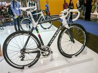 Wholesale carbon fibre bike saddle for sale - Group buy Colnago C60 Road carbon complete Bikes COLNAGO SADDLE with Original R7000 groupset DURA ACE C50 mm wheelset