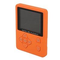 cartão de memória lcd venda por atacado-1.8 Polegada Lcd Tela Mp3 Mp4 Player Suporte Até 32 Gb Tf Cartão De Memória Hi Fi Rádio Fm Mini Usb Music Player Walkman