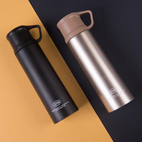 Wholesale painting drinks for sale - Group buy Multi Function Lid Kettle Outdoors Motion Space Cup Stainless Steel Thermal Insulation Water Bottle Lifting Ring Brightly Painted cmb1
