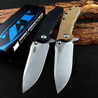 Wholesale knife fold for sale - Group buy Fold knife zero tolerance zt0562 Ball Bearing ELMAX Blade Flipper Tactical Pocket Knives Camping Hunting Survival Knife EDC Outdoor Tool