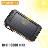 Wholesale portable solar phone battery charger for sale – best Solar Powered mah Battery Power Bank Mobile Phone Charger Outdoor Portable Powerbank Battery Charger Dual USB Port Til