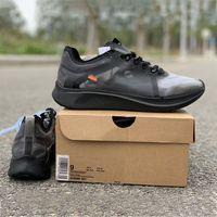 maratón de deportes al por mayor-2019 Zoom Fly SP Marathon Running Shoes Negro OG Cojín Diseñador de moda Las zapatillas deportivas deportivas más nuevas Tamaño 5.5-12