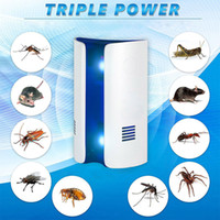 Wholesale bread types resale online - Bread Type Multi function Ultrasonic Electronic Repeller Repels Mice Bed Bugs Mosquitoes Spiders Insect Repellent Killer C19041901