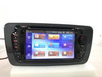 3g rad großhandel-Lärmauto-DVD-Spieler des Touch Screen-2 für Seat Ibiza 2009 2010 2011 2012 2013 mit GPS 3G BT Radio Lenkradsteuerung