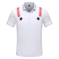 62b90718 New Designer Polo Shirts Men Luxury Polo Casual Men Polo T Shirt Letter  Print Embroidery Fashion High Street Mens Polos