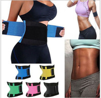 494b228b6 2019 new fitness Body Shapers Unisex Waist Cincher Trimmer Tummy Slimming  Belt Latex Waist Trainer Corset Shapewear by dhl