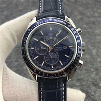 negócios automáticos venda por atacado-AAA Luxo Top Hippocampus Esportes Relógio de Mergulho Dos Homens Marca Automática Monement Relógios Safira Azul de Negócios Mens Mecânica Relógio de Pulso orologio
