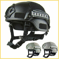 Wholesale tactical fast helmets for sale - Group buy Quality Lightweight FAST Helmet Airsoft MH Tactical Helmet Outdoor Tactical Painball CS SWAT Riding Protect Equipment