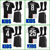 Wholesale Top Thailand quality Kids soccer jersey kids kit sets boys youth children soccer uniform