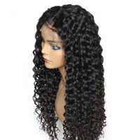 meilleure frange de cheveux humains achat en gros de-Meilleur Perruques Full Lace de cheveux humains Deep Lace avec une frange Style de cheveux de Taylor Swift en stock Perruques de cheveux humains avant de lacet
