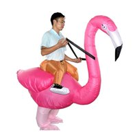 Wholesale mascot suits clothes for sale - Group buy Flamingo Inflatable mascot Costume Adult Kids Innovative Toy Suits Animal Fancy Dress Halloween Carnival Party Clothing