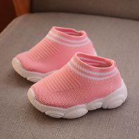 zapatillas de verano para niños al por mayor-Diseñador de Zapatos para Niños Pequeños Niños Bebé Verano Zapatillas de deporte para niños Zapatillas de deporte para correr Suave transpirable Cómodo Bebé Niños Niñas Niño