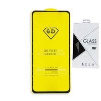 закаленное стекло для галактики samsung a8 оптовых-Полная Крышка 6D 9D Закаленное Стекло-Экран Протектор AB Полный клей ДЛЯ Samsung Galaxy J7 2018 A8 STAR A9 STAR LITE J4 PLUS J6 PLUS 100 ШТ. Розничная