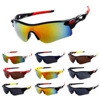 fahrrad-sonnenbrille großhandel-Beruf Marke Fahrrad Radfahren Brillen Outdoor Sport Sonnenbrille für Männer Frauen Mountainbike Reiten Sonnenbrille Motorradbrille UV400