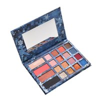 Wholesale professional makeup pigment palettes resale online - 1pc Eyeshadow Palette Diamond Glitter Eye Shadow Blush Maquiagem Professional Makeup Palette High Pigment Colors