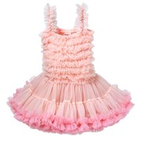 Wholesale baby winter clothes factory resale online - Top Quality Cute Pink Tutu Dress Children s Princess Dress Girls Net Gauze Ball Gown Dress Baby Clothing Birthday Gift Factory Wholesal