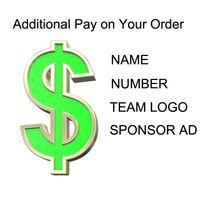 ingrosso set di numeri di calcio-Il costo del numero, nome, logo, personalizzazione dello sponsor di maglie e set da calcio, da calcio e da basket