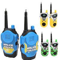 interfone sem fio ao ar livre venda por atacado-Crianças Walkie Talkie Brinquedos Pai-filho walkie-talkie sem fio chamada remota inteligente interativo brinquedo ao ar livre brinquedo de segurança comunicação Outdoor