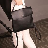 Wholesale ladies rucksack handbags resale online - New High Quality Fashion Handbag Shoulder Bag For Women Lady Hand Bags Leather Satchel Shoulder School Rucksack Bags