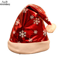 Wholesale pink tree pictures for sale - Group buy Christmas Hat Children Adult Christmas Party Dress As Picture up Unisex Cap Fashion