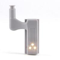 eiffelturm weihnachtslichter großhandel-LED-Scharnier-Licht Kabinett Sensor-Nachtlicht-Lampe für Küche Wohnzimmer Schlafzimmer Kleiderschrank Schrank-Tür Kalt / Warm-Beleuchtung