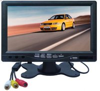 Wholesale 2ch monitor for sale - Group buy Prmotion inch desktop monitor LCD display ch video input DC V return headrest monitors