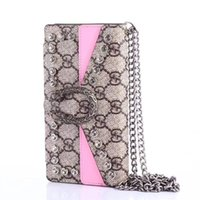 Wholesale snake body chain for sale - Group buy Designer Cross Body Snake Wallet Case for Apple iPhone XS Max XR Plus with Card Holder Chain Flip Bumper for Women Girls