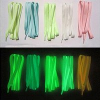Wholesale shoes favors for sale - Group buy 3 Pair Party Favors Sport Shoes Lace M Polyester Neon Color Luminous Fluorescent Shoelaces Wedding Gifts for Guests Night