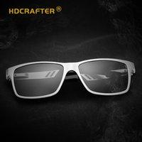 sürücü hd toptan satış-HD Crafter erkek Güneş Gözlüğü Renkli Polarize Sürücü Sürüş Lensler Açık Spor tasarımcısı güneş gözlüğü A6560