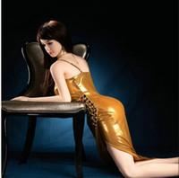 ingrosso mezza bambola gonfiabile-Bambola gonfiabile semisolida per bambole in silicone da donna in gomma per la vagina maschile in silicone