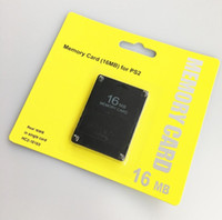 ps2 speicher großhandel-Speicherkarte Save Games Data Stick 8MB 16MB 32MB 64MB 128MB MS Für Playstation 2 PS2 Module Saver