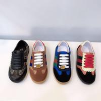 ingrosso poco a piedi-lusso bambino ragazzi ragazze sneakers designer bambini scarpe bello casual sport walking scarpe da corsa per i bambini piccoli scarpe di alta qualità