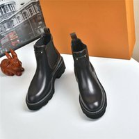 Wholesale womens winter boots resale online - 2020 Fashion Designer BEAUBOURG Ankle boots Women Shoes Winter Boots Ladies Girls Silk Cowhide Leather High Top Womens Flat Ankle Boot