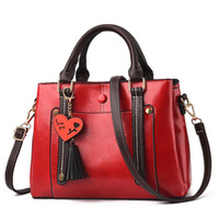 Wholesale computer hearts for sale - good quality Bags Women s Red Shoulder Bags For Women Space Pu Leather Handbags Lady Small Bag China Brands Bolsa Feminina A565