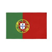 Wholesale portugal flags resale online - Polyester cm Portugal Flag National Flag For World Cup National Day Olympic Games For Decoration