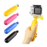 4k gopro großhandel-Schwimmhandgriff Auftriebsstange Mast Selfie Stick Kamera Einbeinstativ Stativ für GoPro Hero 6 für Xiaomi Yi SARGO 4k Sjcam SJ4000 H9