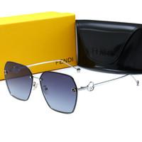 acessórios de moda de qualidade venda por atacado-2019 Moda feminina óculos de sol casal óculos polarizados designer de alta qualidade toad shape Shades óculos Acessórios de moda com caixa
