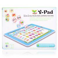 ingrosso tavoletta didattica inglese-Bambini bambini inglese pad apprendimento giocattolo educativo tablet computer macchina di apprendimento strumenti per bambini laptop pad giocattoli educativi per bambino S19JS237