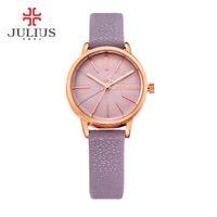 Wholesale luxury watch brand logo for sale - Group buy JULIUS Women s Brand Luxury Fashion Ladies Watch Japan Movt Quartz Watch Price Cheap Promotion WR m Watch With Logo JA