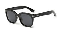 горячие дизайнерские очки оптовых-Горячие продажи мода том бренд дизайнер поляризованных солнцезащитных очков мужские женские TF солнцезащитные очки UV400 Oculos masculino мужской TR90 очки