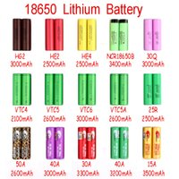 fedex batterie großhandel-NEUE Aufladeeinheits-Energie Neue Ankunft IMR 18650 Batterie 2100mah-3500mah für Mischungsmarken-Leoparddruck MAX50A durch Fedex