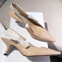 kız sandalet ayakkabı düğün toptan satış-Tasarımcı kadınlar yüksek topuklu parti moda kızlar seksi sivri ayakkabı Dans düğün ayakkabı sandalet kadın shoes41